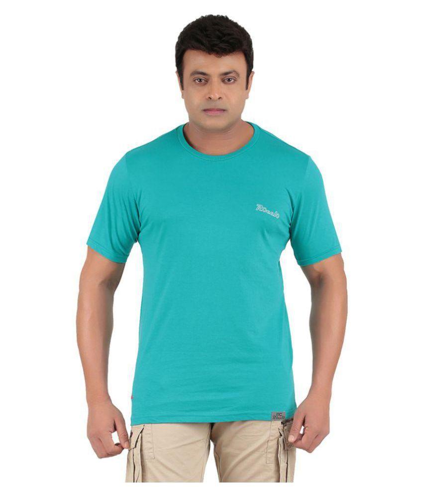 Ronnie Coleman Blue Cotton T Shirt