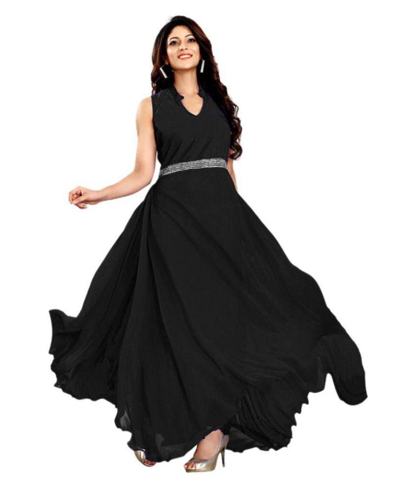 Ashapura Creation Georgette Gown