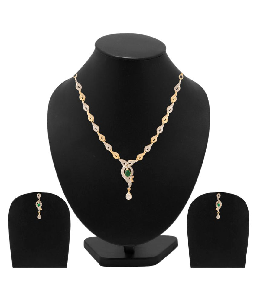 Voylla Multicolour Alloy Necklace Set