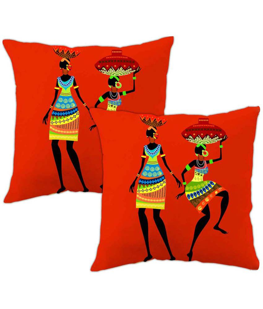Viceroy Set of 2 Polyester Cushion Covers