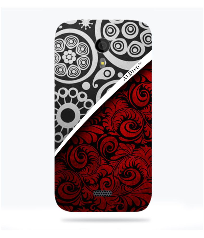 Micromax Canvas HD A116 Printed Cover By ALDIVO