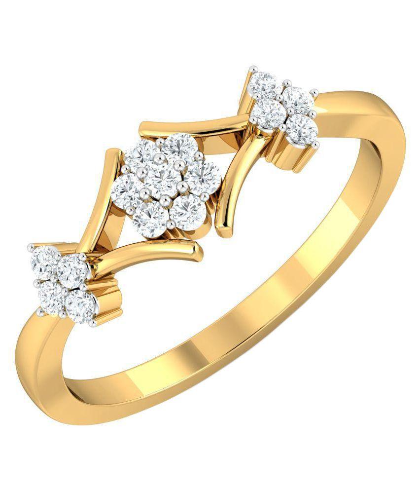 Khanna Jewels 18k Gold Ring