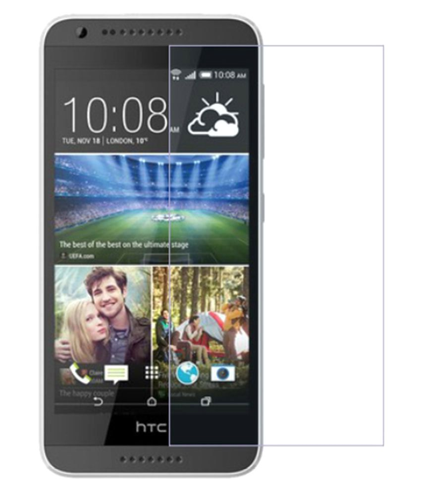 HTC Desire 620 Tempered Glass Screen Guard By Design Worlds
