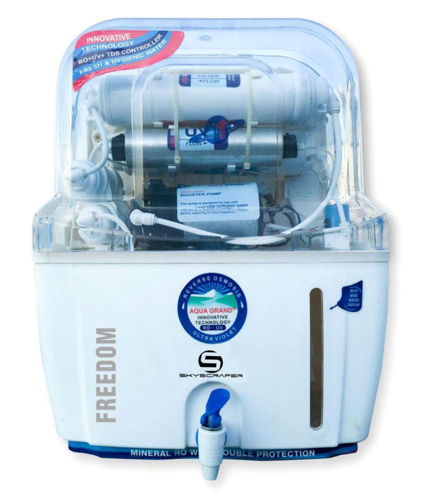 fa7cfda52e9 Skyscraper Aquagrand Plus Freedom 12 Ltr ROUVUF Water Purifier Price in  India - Buy Skyscraper Aquagrand Plus Freedom 12 Ltr ROUVUF Water Purifier  Online on ...