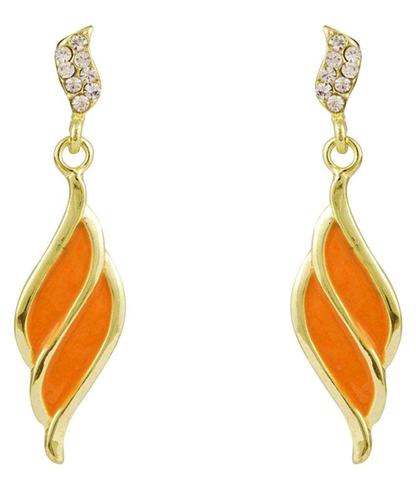 Glitters Online Multicolour Hanging Earrings