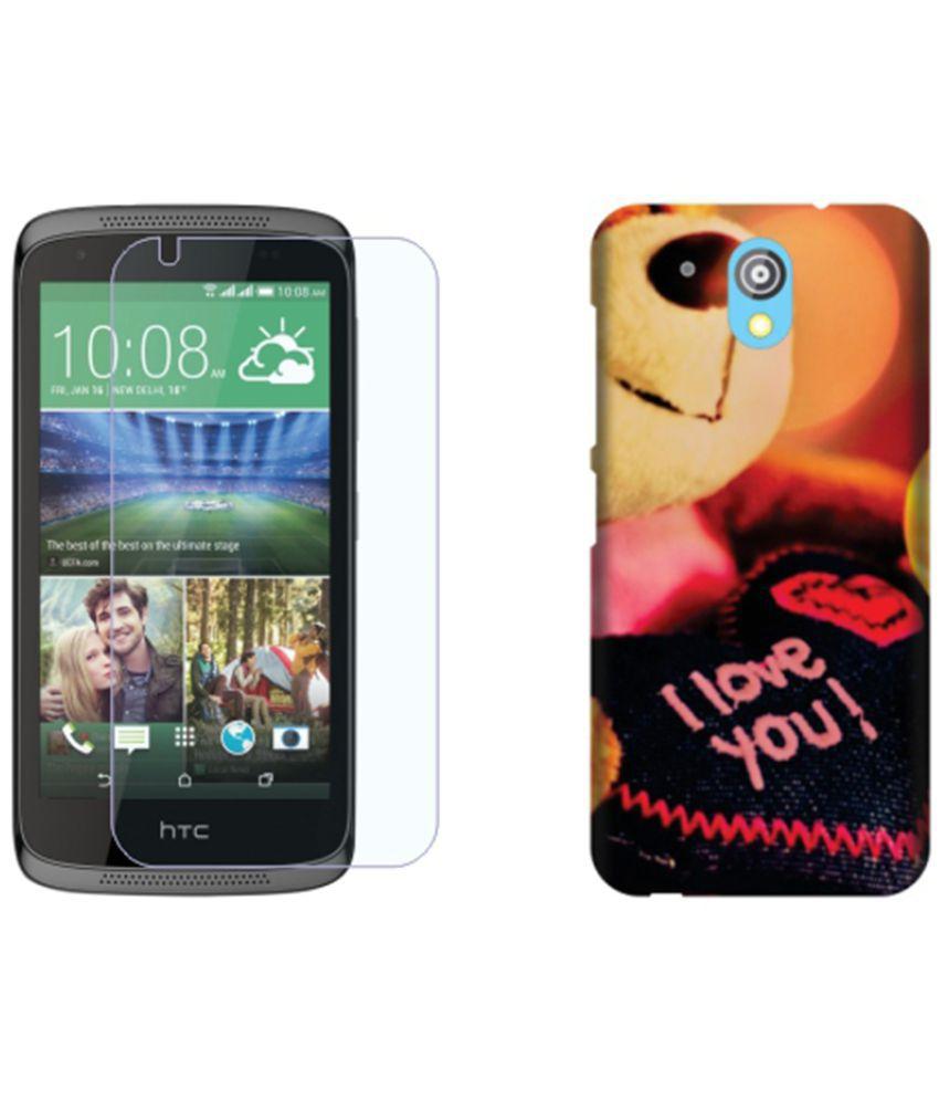 HTC Desire 526G+ Dual Sim Cover Combo by Printland