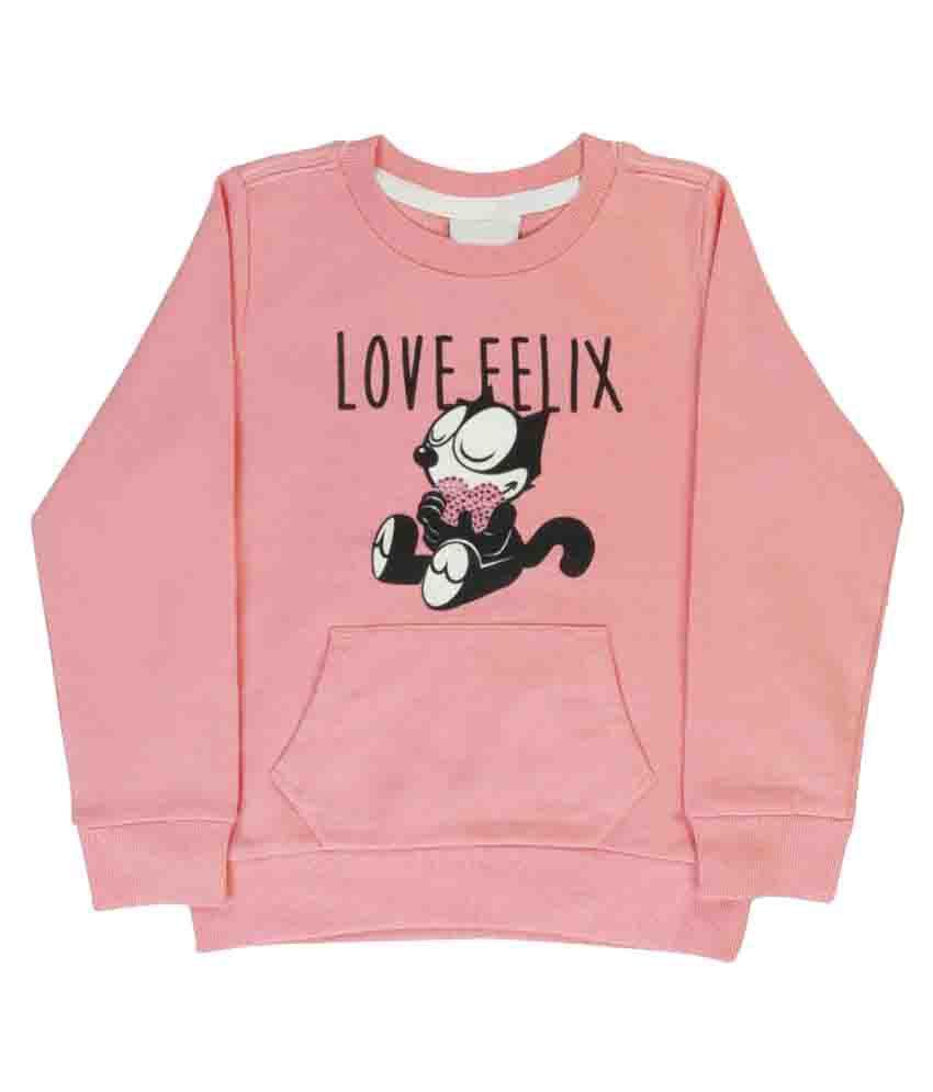 Indirang Light Pink Sweatshirt