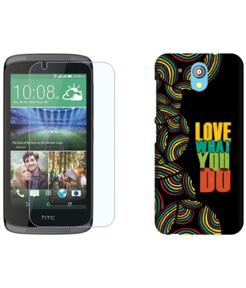 HTC Desire 526G+ Dual Sim Cover Combo by Via Flowers