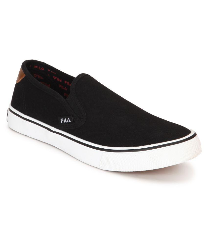 Fila Sneakers Black Casual Shoes - Buy