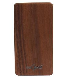 Callmate Wooden 802 8000 MAh Li-Polymer Power Bank