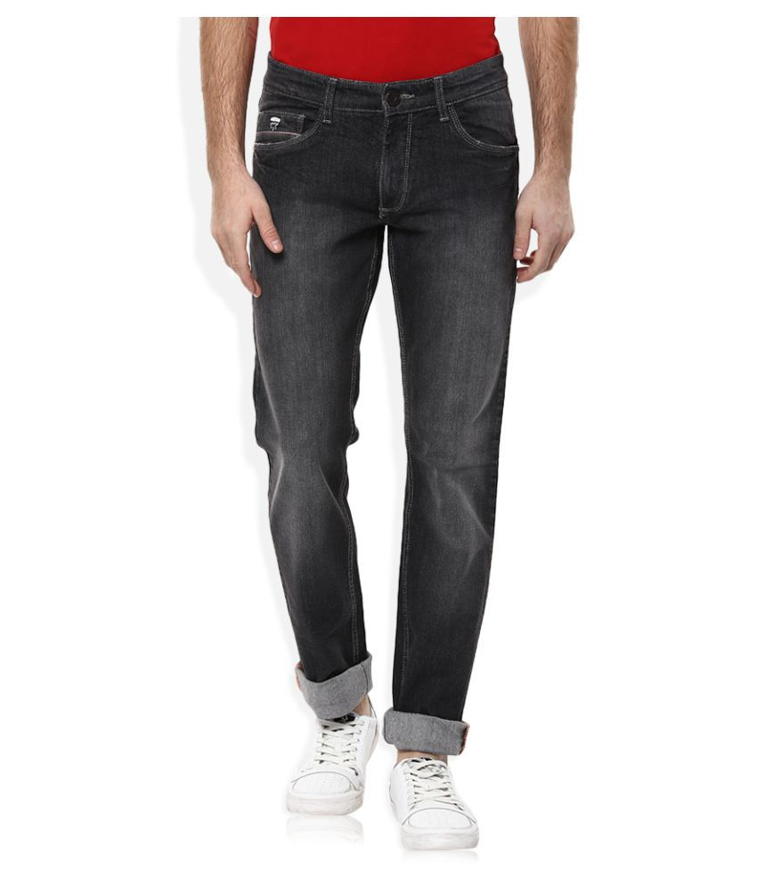 John Players Grey Slim Jeans
