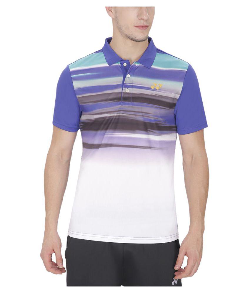 Yonex Multicolor Polo T Shirt