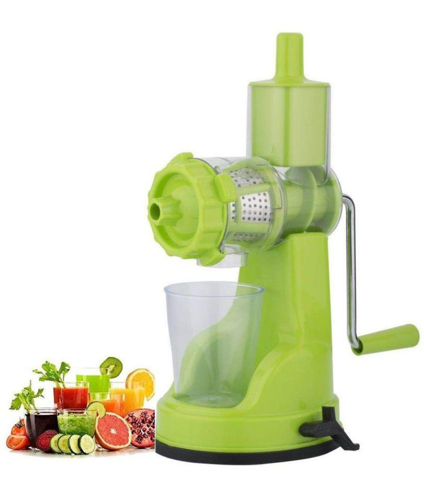 Flora Slow Juicer Reviews : Floraware Light Green Manual Jucier: Buy Online at Best Price in India - Snapdeal