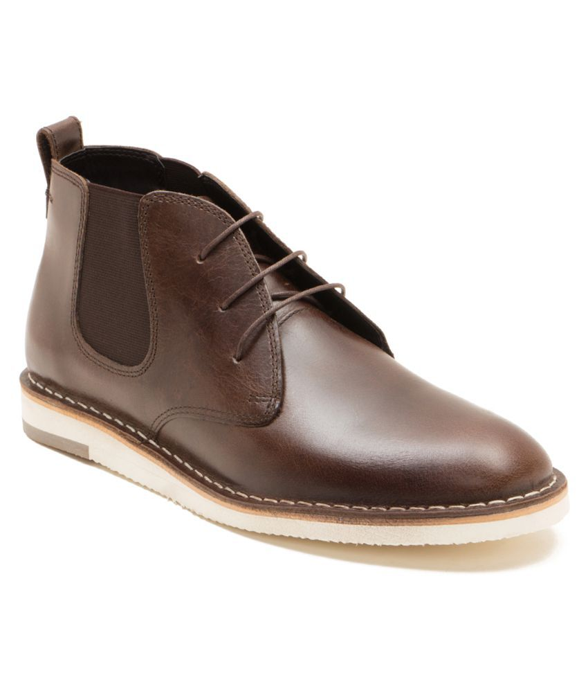 Red Tape Brown Chelsea boot