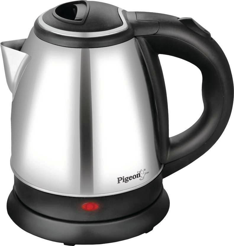 Pigeon Shiny 1.5 Liters Electric Kettle (360 Degrees Swivel Base)