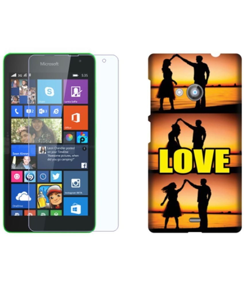 Microsoft Lumia 535 Cover Combo by Design Worlds
