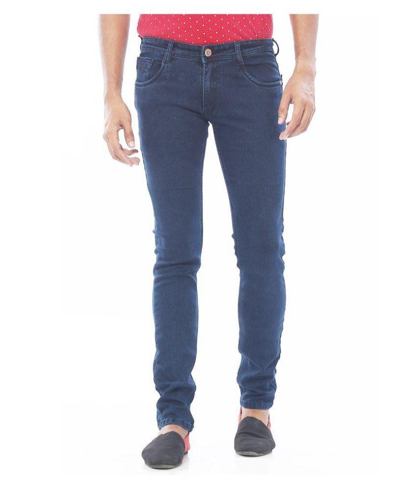 Rivex Blue Straight Jeans