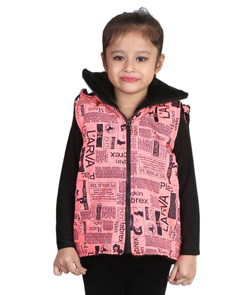 Crazies Pink Woven Jacket