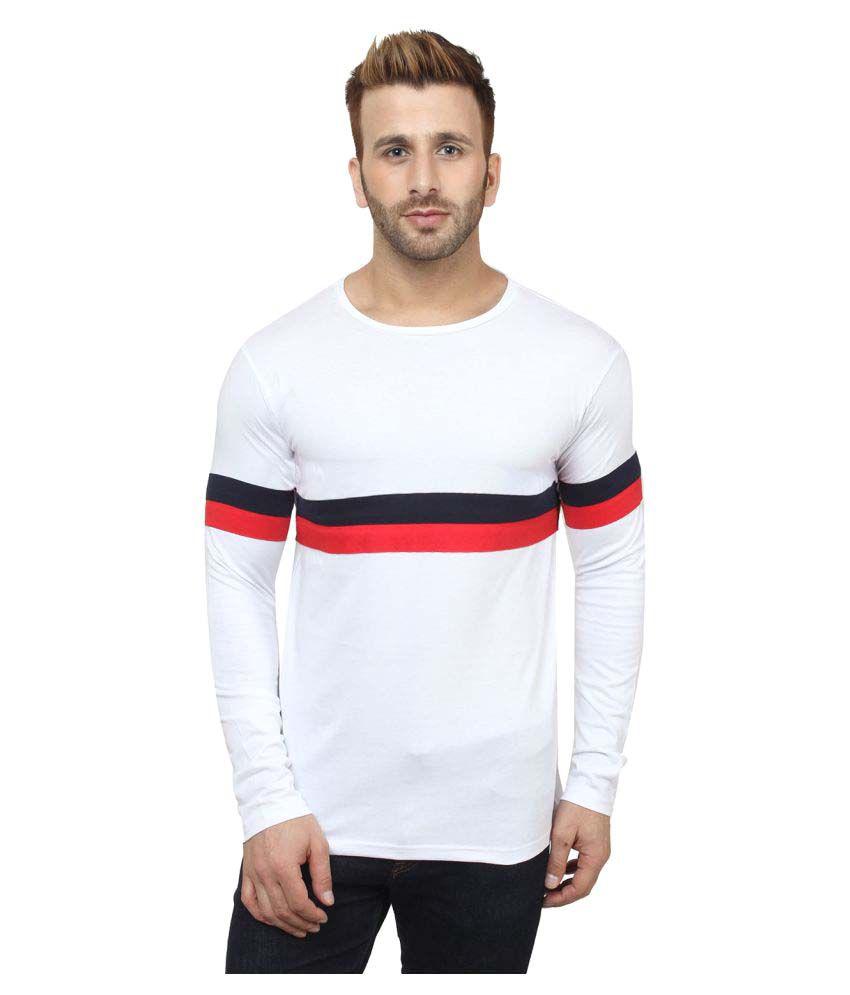 Sayitloud White Round T-Shirt