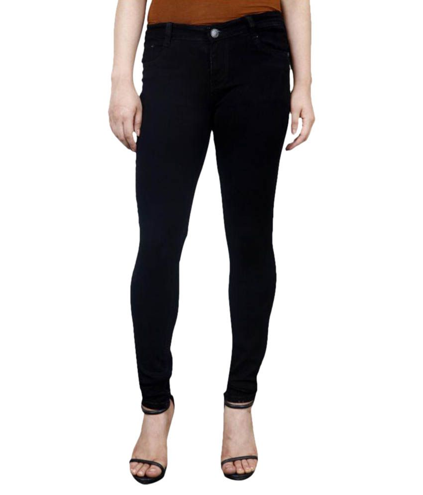 FACTS Denim Lycra Jeans - Black