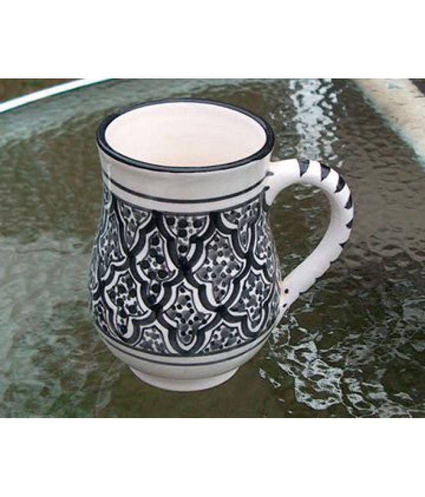 Le Souk Ceramique Ceramic Coffee Mug 4 Pcs 1400 ml