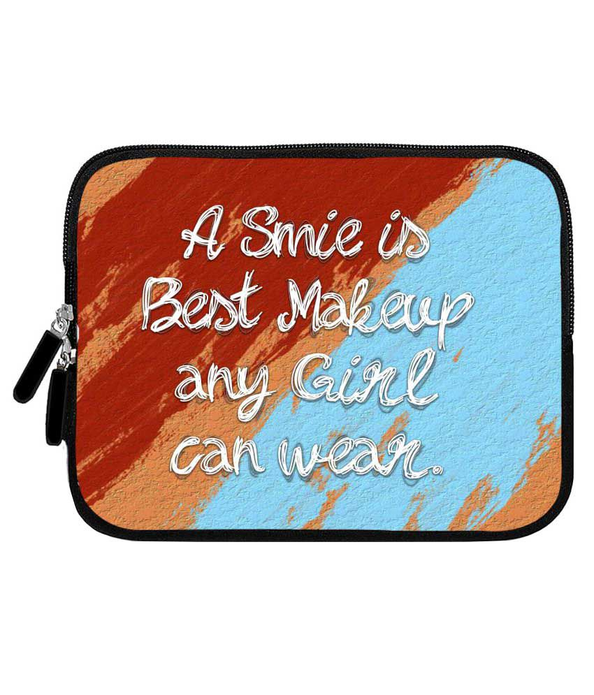 iBall Gorgeo 4GL Tablet Sleeve By Zapcase Multi Color