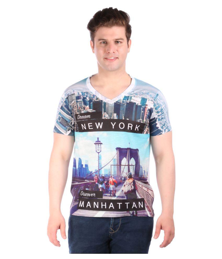 LNDN Hour Multi V-Neck T-Shirt