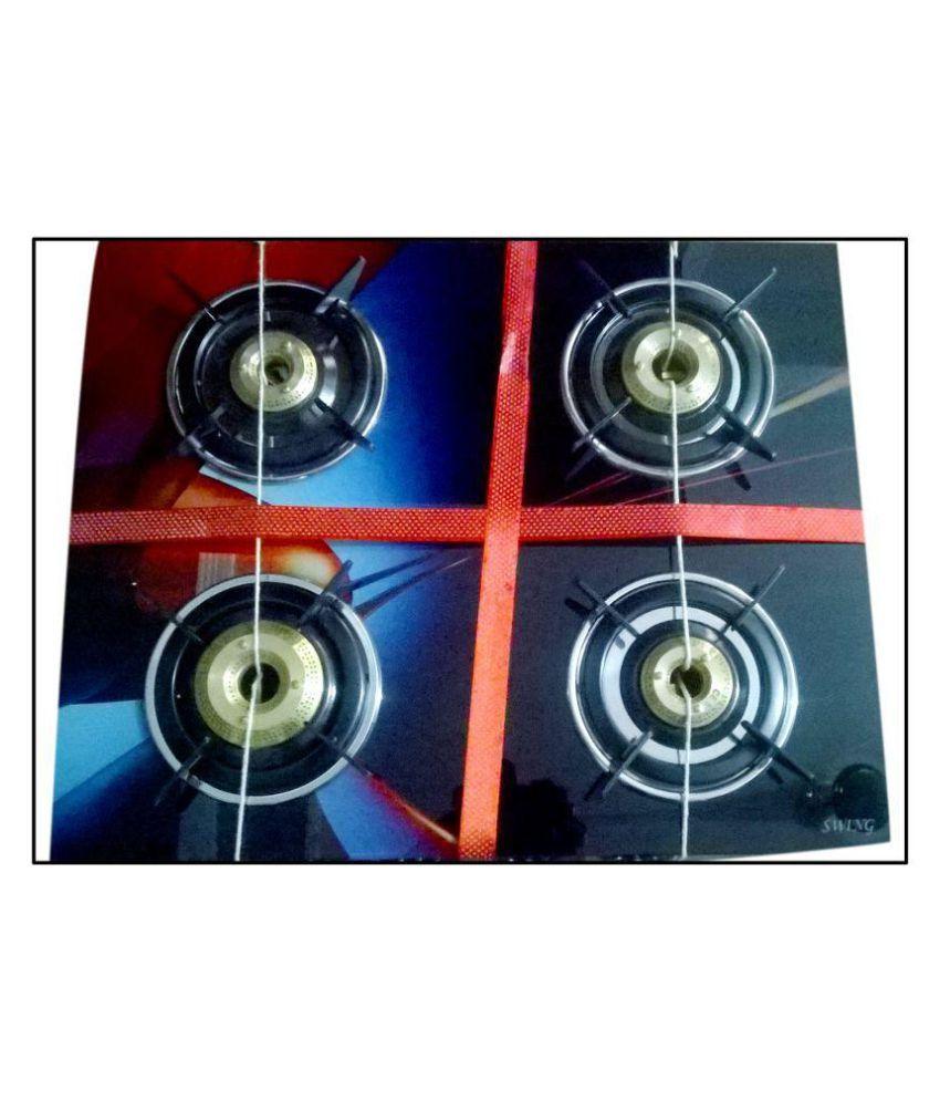 Click Auto Kitchen King 4 Burner Glass Automatic Gas Stove Price In India Buy Click Auto Kitchen King 4 Burner Glass Automatic Gas Stove Online On Snapdeal