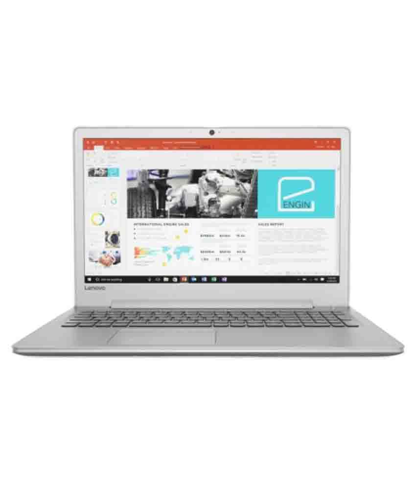 Lenovo Ideapad 80SV001SIH Notebook (7th Gen Intel Core i5- 8GB RAM- 1TB HDD- 39.62cm(15.6)- Win 10- 4GB Graphics) (Silver)