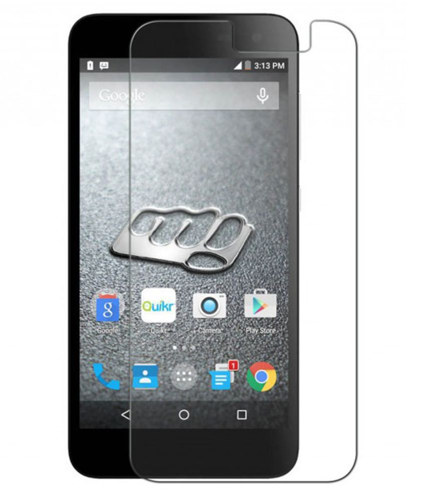 Micromax Canvas Blaze 4G Q400 Tempered Glass Screen Guard By Glasscandy