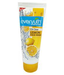 Everyuth Oil Clear Lemon Face Wash 60ml Pack Of 2