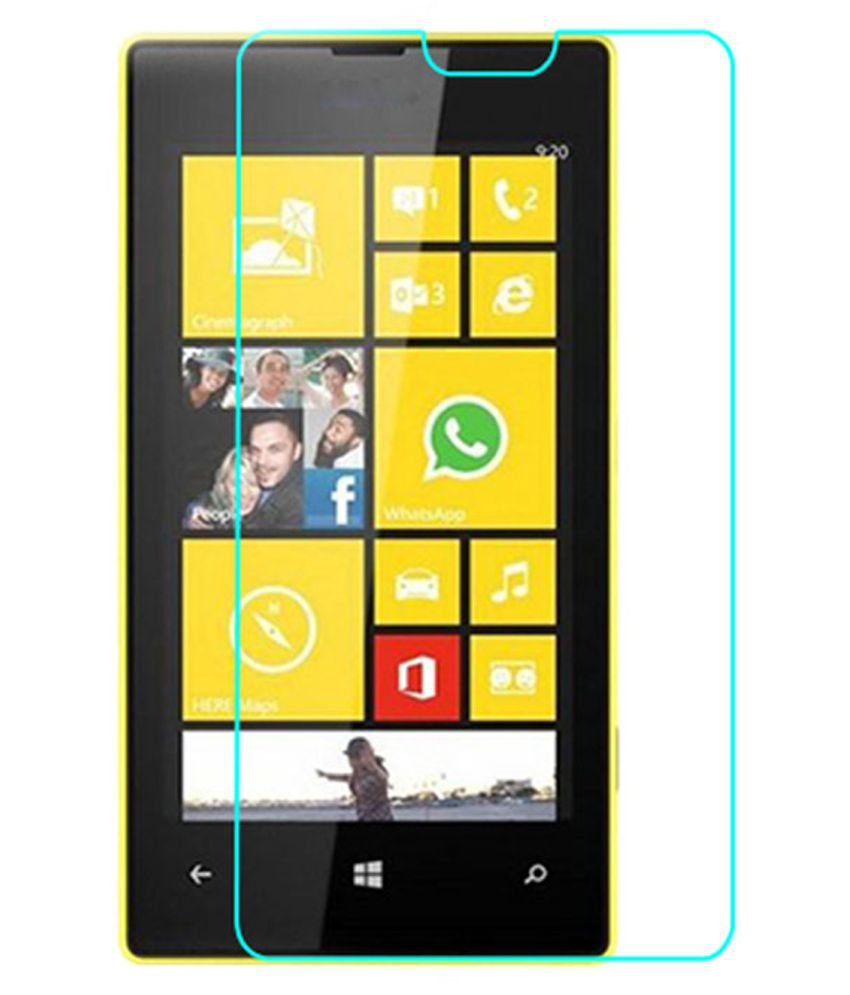 Nokia Lumia 520 Tempered Glass Screen Guard By Crook