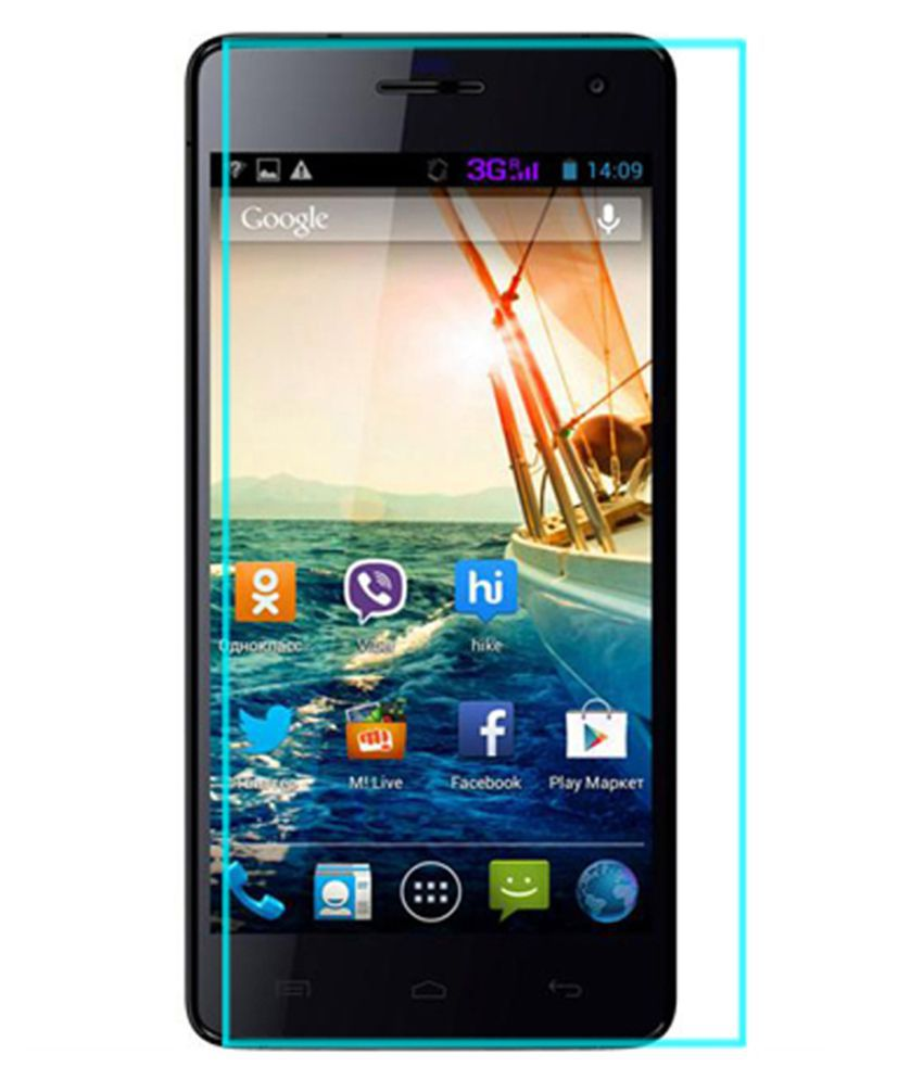 Micromax Canvas knight Tempered Glass Screen Guard By Crook