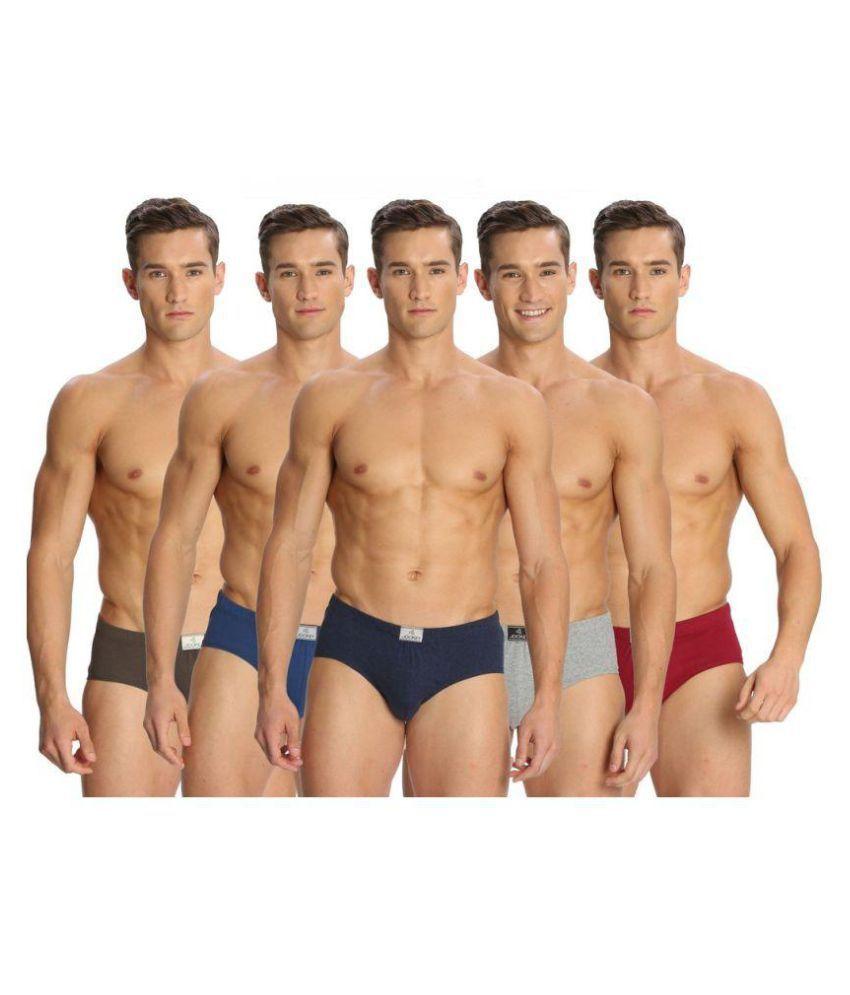 Jockey Multi Brief Pack of 5