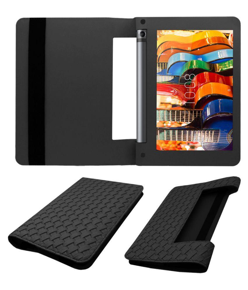 separation shoes fa995 b25f2 Lenovo Yoga Tab 3 8 Flip Cover By Acm Black
