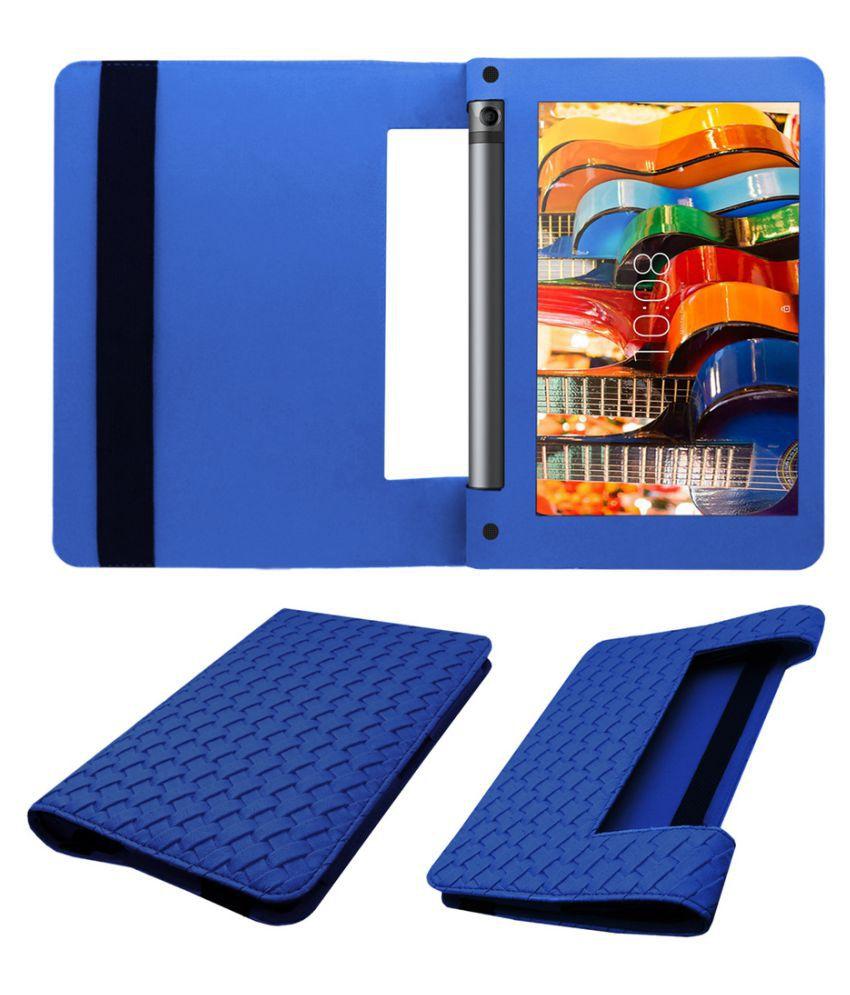 best cheap 18f81 e20a0 Lenovo Yoga Tab 3 8 Flip Cover By Acm Blue
