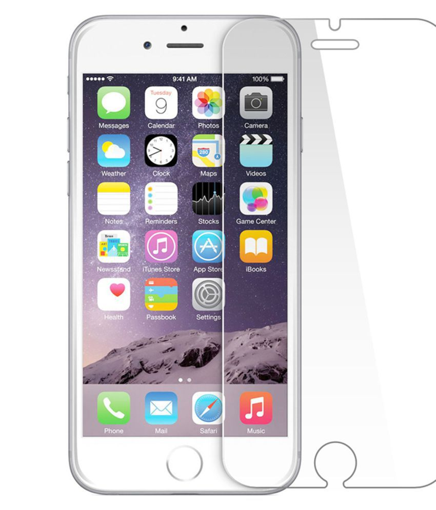 Apple iPhone 6S Tempered Glass Screen Guard By Tempered glass hd