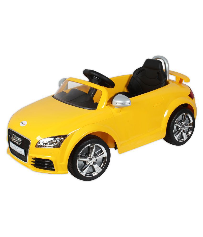 Toyhouse officially licensed audi tt rs rechargeable 6v battery powered ride on with remote control