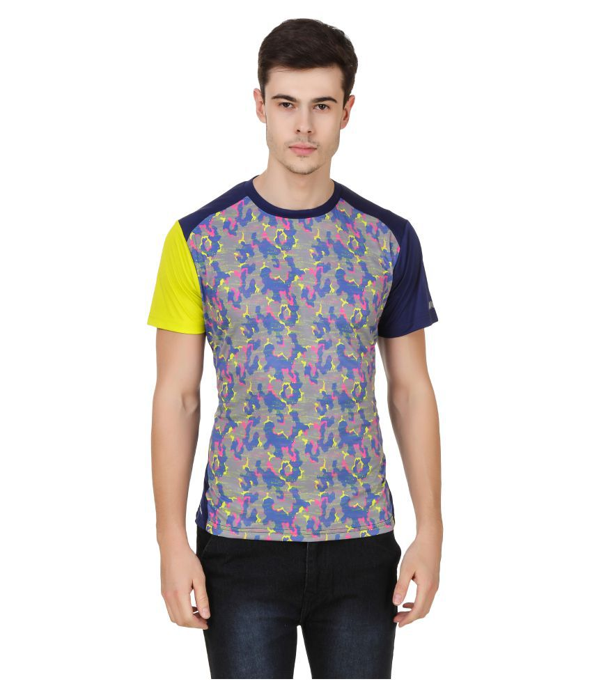 Spunk Multicolor Polyester T-Shirt