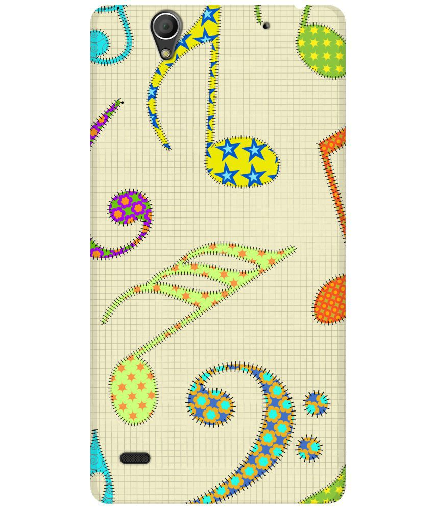 Sony Xperia C4 Printed Cover By SWAGMYCASE