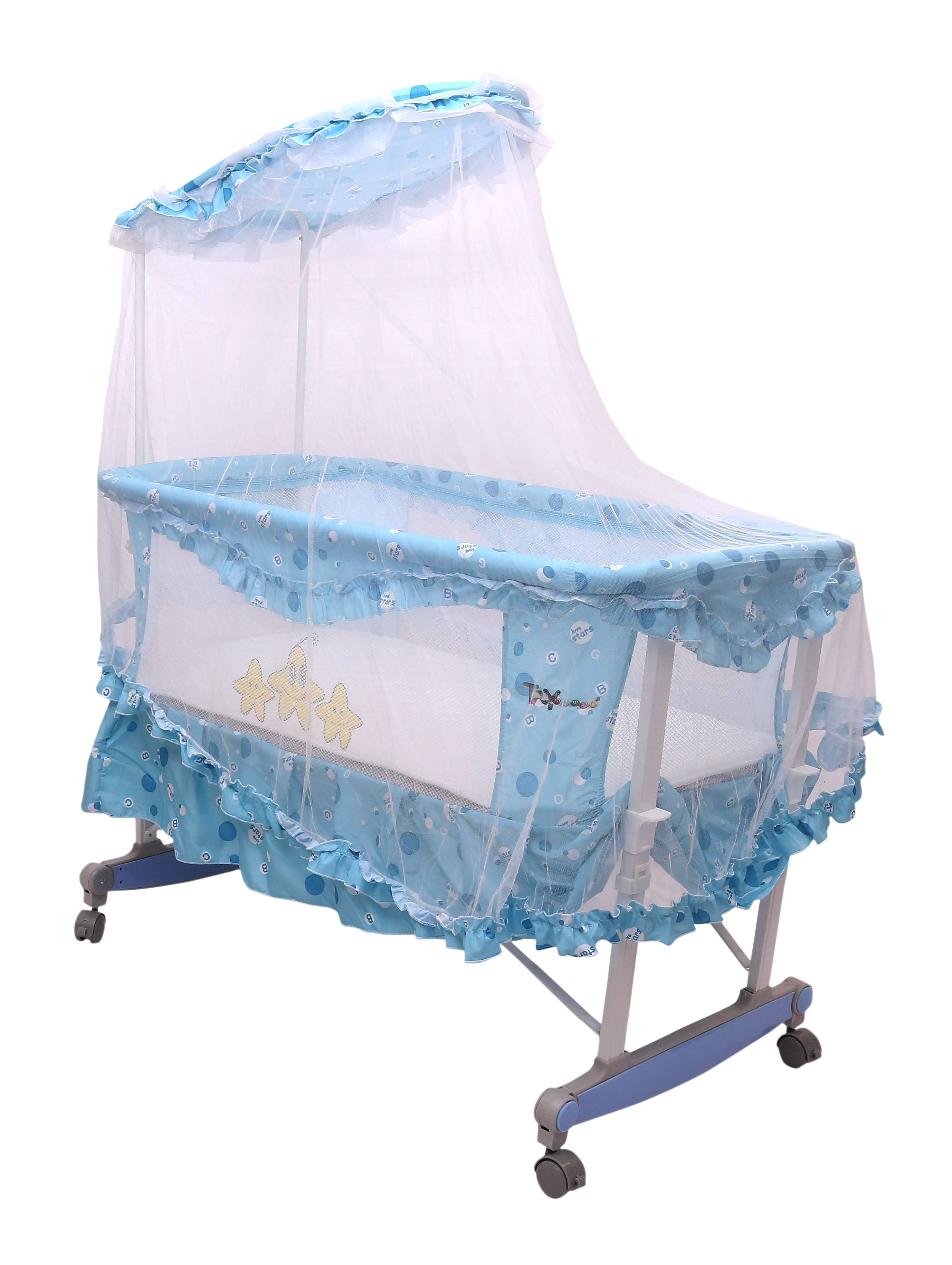 Toyhouse Baby Cradle with Rocking Function