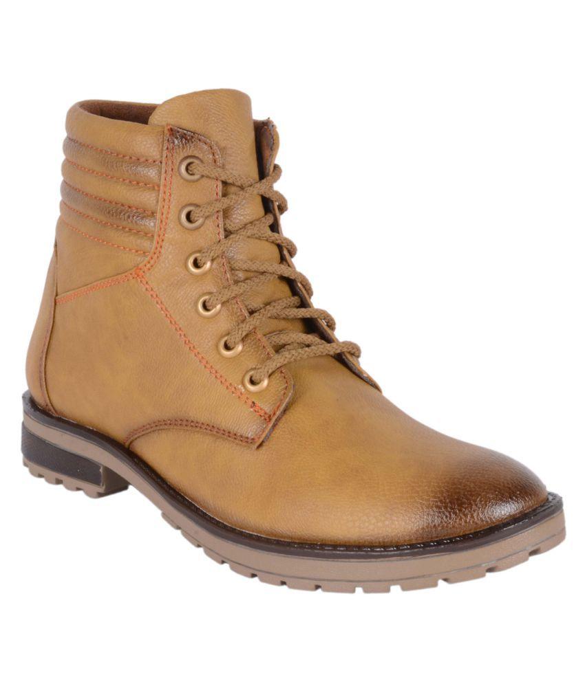 Voochie Beige Casual Boot