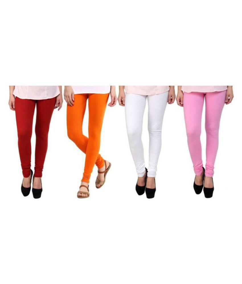 Amagav Blended Pack of 4 Leggings