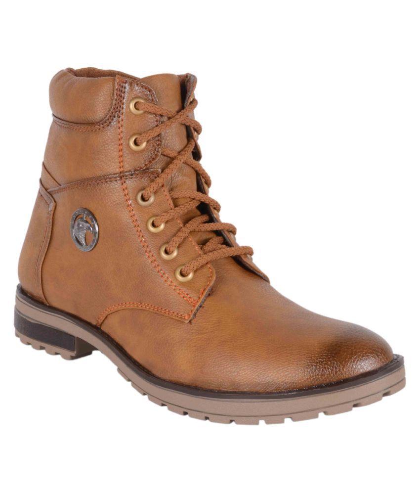 Voochie Brown Casual Boot