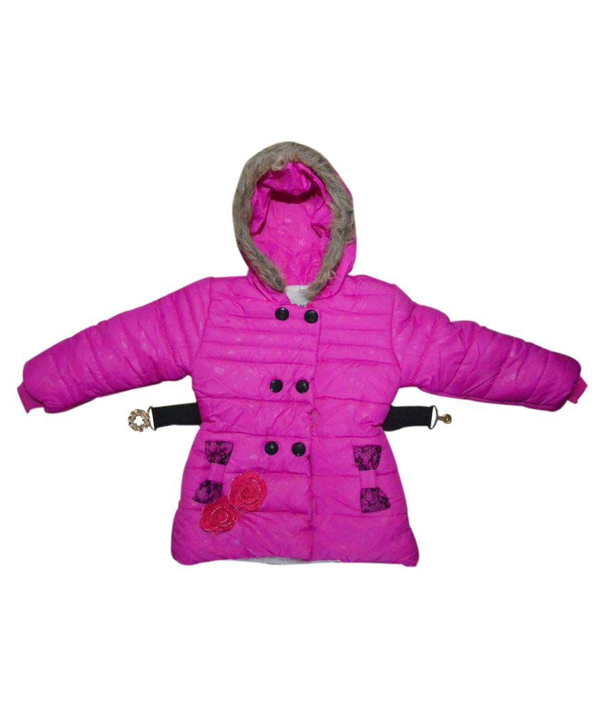 Winter Fuel Pink Kids Jacket