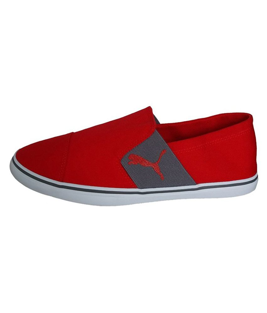 9a5377ef89f1a3 Puma Men Elsu v2 Slip On IDP Red Sneakers - Buy Puma Men Elsu v2 Slip On IDP  Red Sneakers Online at Best Prices in India on Snapdeal