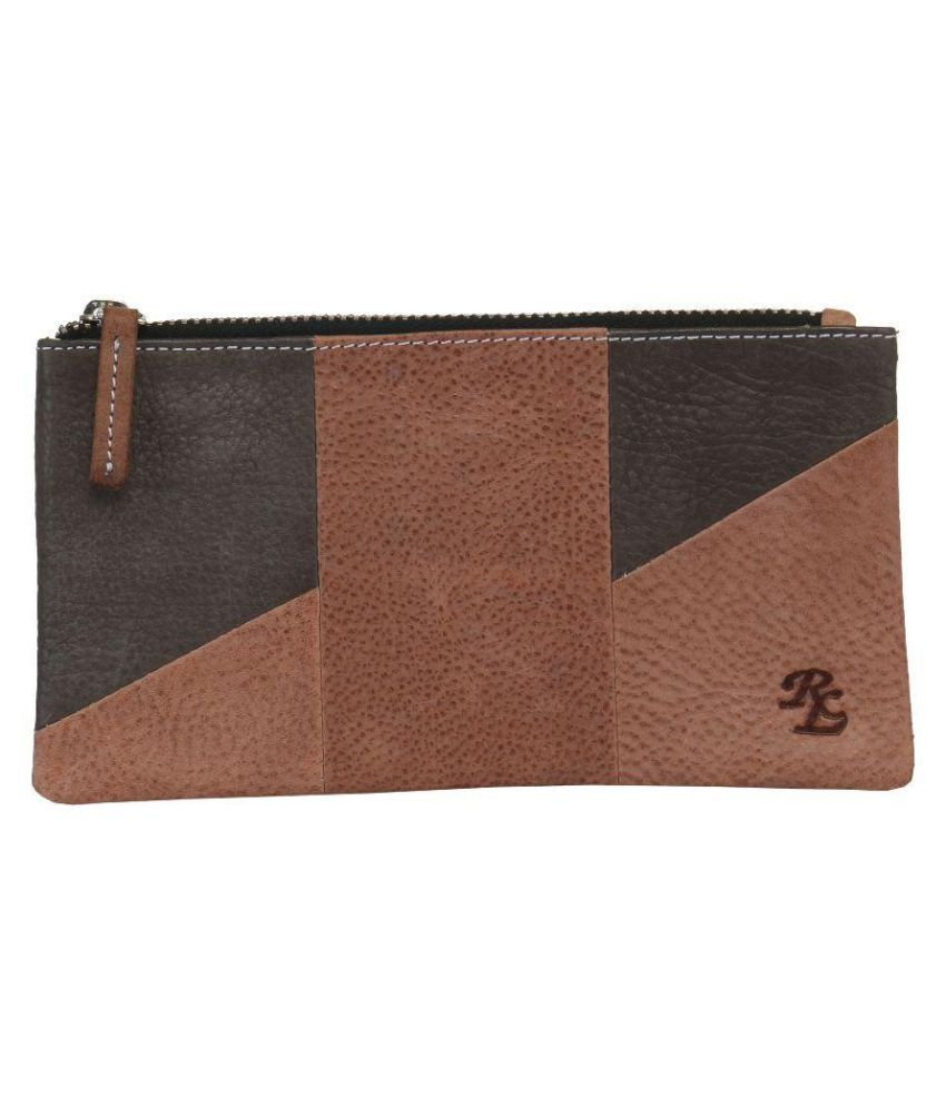 Walletsnbags Brown Wallet