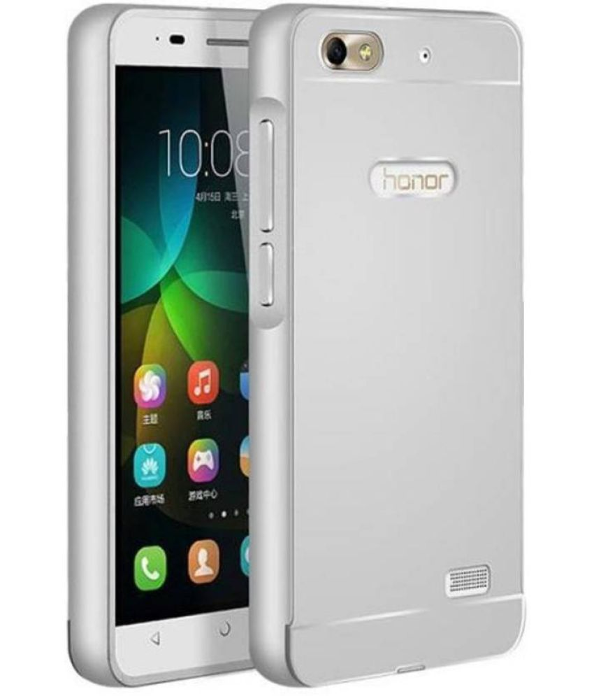 separation shoes 38a63 94ec0 Huawei Honor 4C Cover by KOKO - Silver