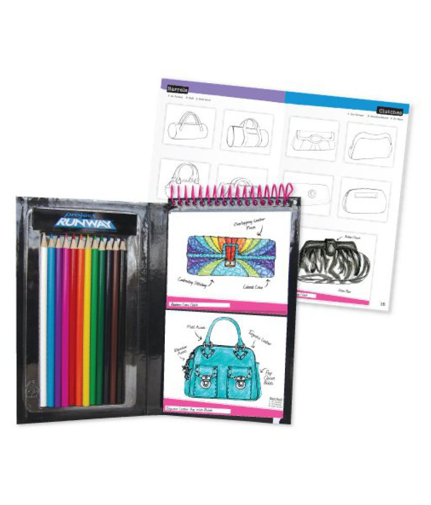 Project Runway Fashion Handbag Design Sketchbook Buy Online At Best Price In India Snapdeal