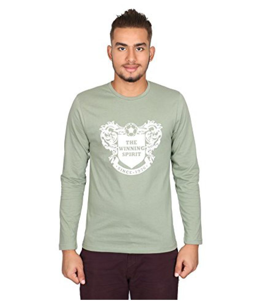Vector X VTC-002-E full Sleeves Cotton round neck T shirt